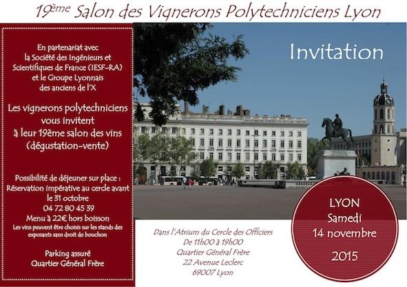 Château Magence_salon des Polytechniciens vignerons_Lyon 2015
